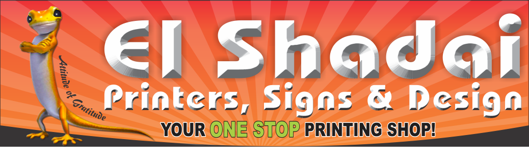 El Shadai Printers Signs and Design